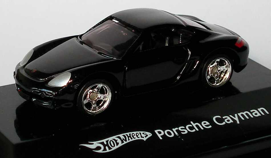 Foto 1:87 Porsche Cayman S schwarz HotWheels N0240