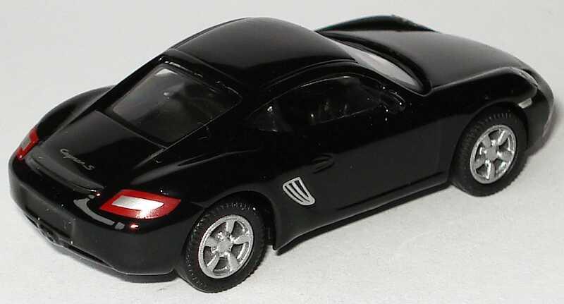 Foto 1:87 Porsche Cayman S schwarz Malibu International