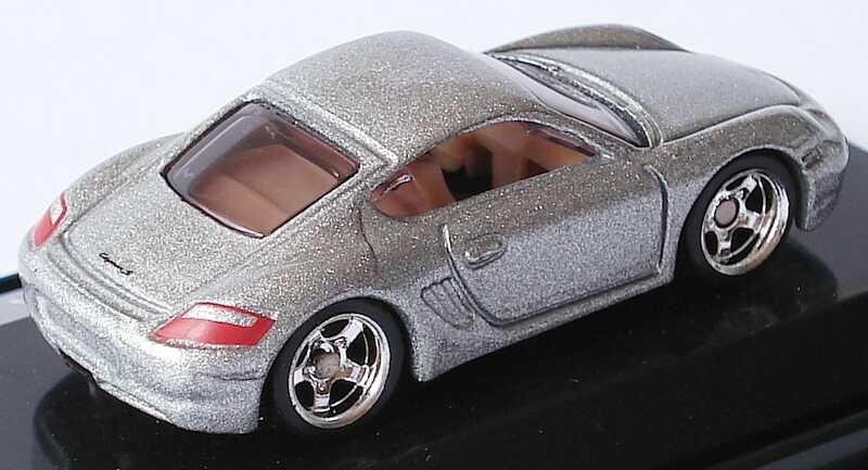 Foto 1:87 Porsche Cayman S silber-met. HotWheels L7171
