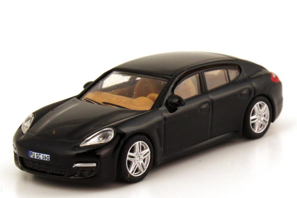 Foto 1:87 Porsche Panamera schwarz Schuco 25842