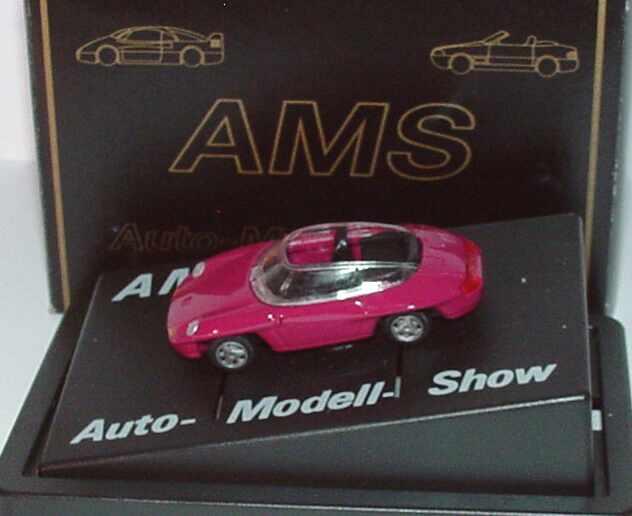 Foto 1:87 Porsche Panamericana brombeerpink Auto-Model-Show Farbstudie r + h modellauto