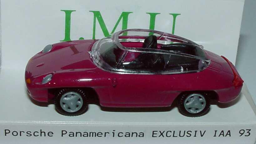 Foto 1:87 Porsche Panamericana brombeerpink IAA 93 I.M.U. 09481