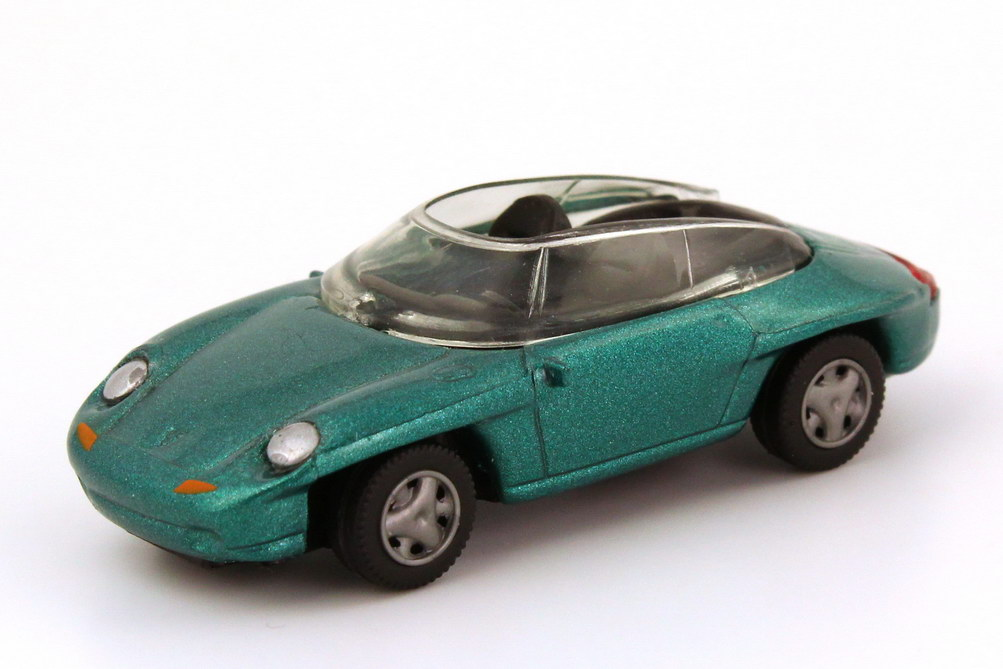 Foto 1:87 Porsche Panamericana lagunengrün-met. Hohmann 09481