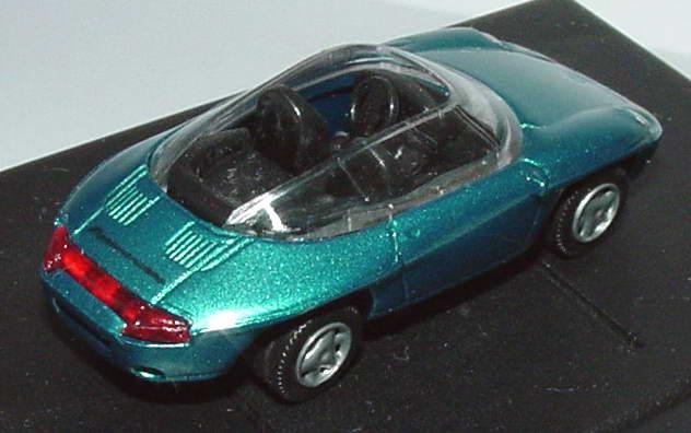 Foto 1:87 Porsche Panamericana lagunengrün-met. r + h modellauto