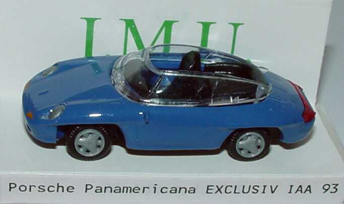 Foto 1:87 Porsche Panamericana maritimblau IAA 93 I.M.U. 09481