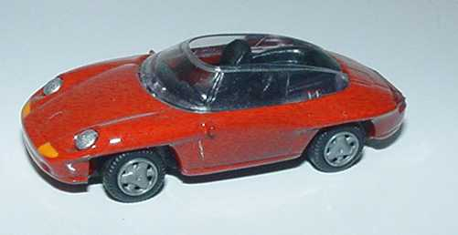 Foto 1:87 Porsche Panamericana rot Hohmann
