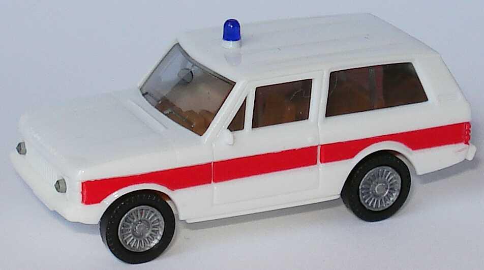 Foto 1:87 Range Rover Rettungswagen (Speichenfelgen) herpa