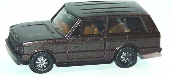 Foto 1:87 Range Rover schwarzbraun met. Rechtslenker RHD - herpa 301601A