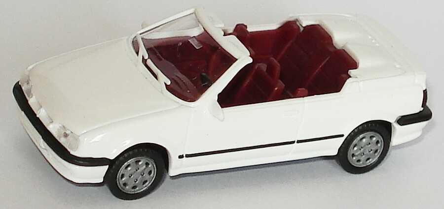 Foto 1:87 Renault 19 Cabrio weiß AMW/AWM 0270