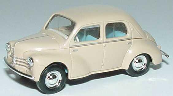 Foto 1:87 Renault 4 CV beige Busch 46500
