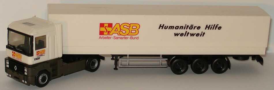 Foto 1:87 Renault AE 500 Magnum PPSzg 2/3 ASB, Humanitäre Hilfe weltweit herpa 080064