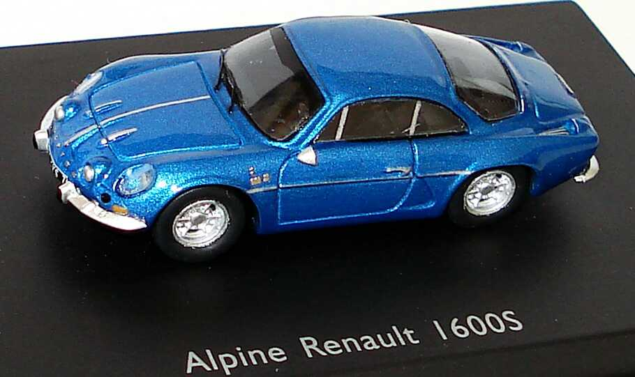 Foto 1:87 Renault Alpine A110 1600S blau-met. Spark 87S019