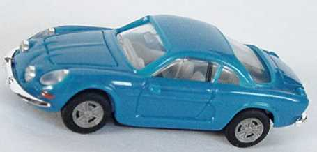 Foto 1:87 Renault Alpine A110 blau herpa 022828