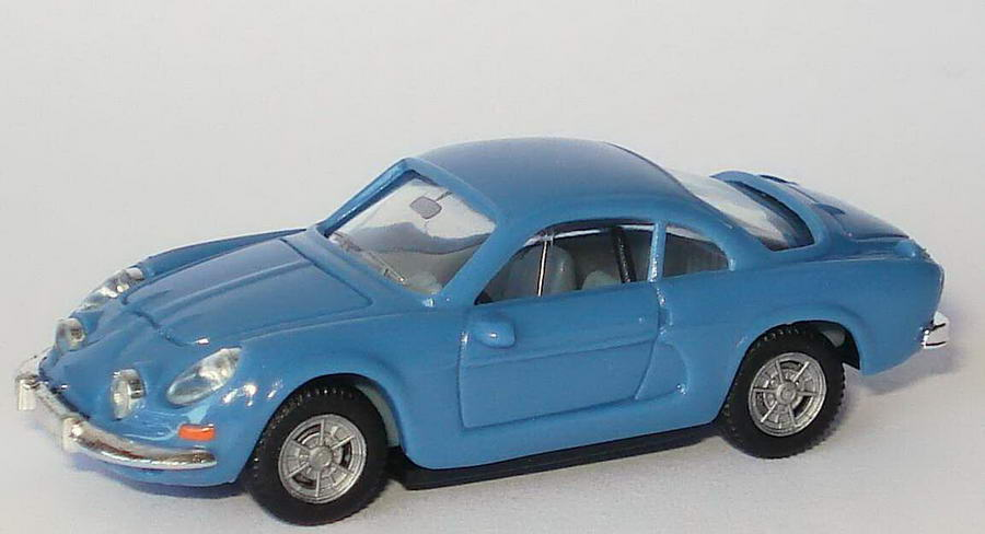 Foto 1:87 Renault Alpine A110 blaugrau herpa 022828/151672