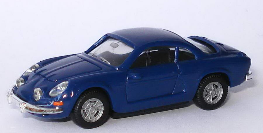 Foto 1:87 Renault Alpine A110 dunkelblau herpa 022828/150743