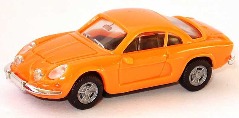 Foto 1:87 Renault Alpine A110 orange herpa 022828