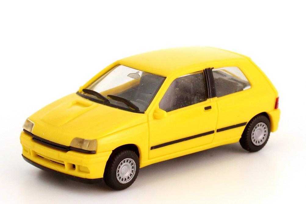 Foto 1:87 Renault Clio 16V gelb herpa 021364