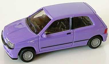 Foto 1:87 Renault Clio 16V lila - herpa 021364