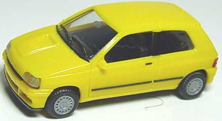 Foto 1:87 Renault Clio 16V orangegelb herpa 021364