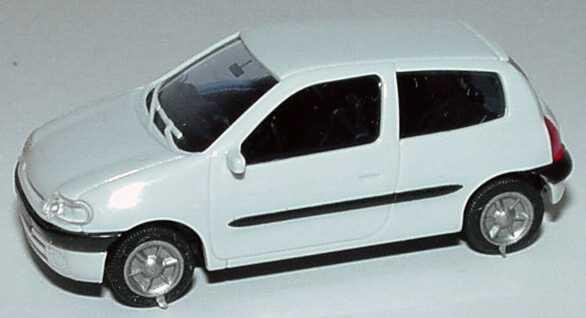 Foto 1:87 Renault Clio 2 3türig grauweiß AMW/AWM