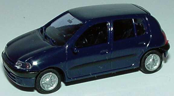 Foto 1:87 Renault Clio 2 5türig dunkelblau AMW/AWM