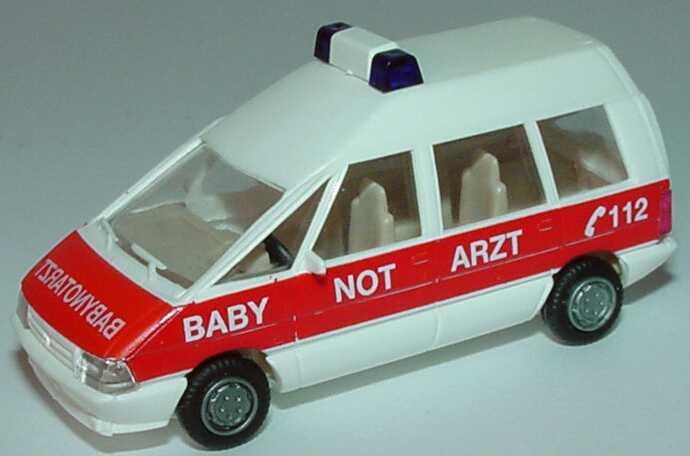 Foto 1:87 Renault Espace I Facelift Hochdach Babynotarzt Praliné