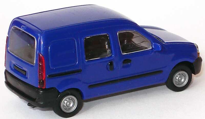 Foto 1:87 Renault Kangoo (ein Mittelfenster) blau Norev 511112