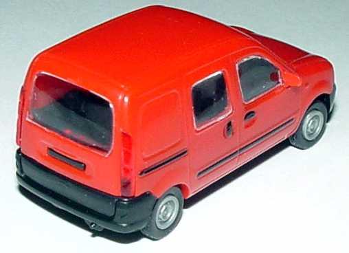 Foto 1:87 Renault Kangoo (ein Mittelfenster) rot Norev 511113