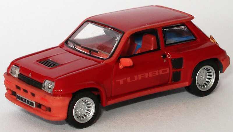 Foto 1:87 Renault R5 Turbo dunkelrot Universal Hobbies