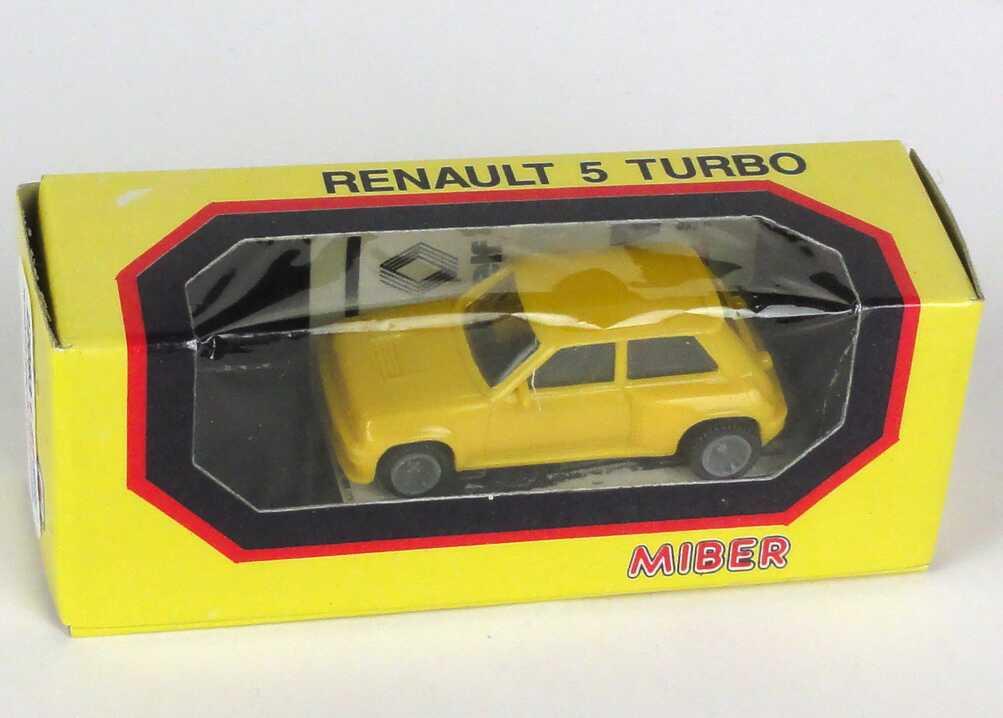 Foto 1:87 Renault R5 Turbo mit elf-Decal-Satz Miber 2122