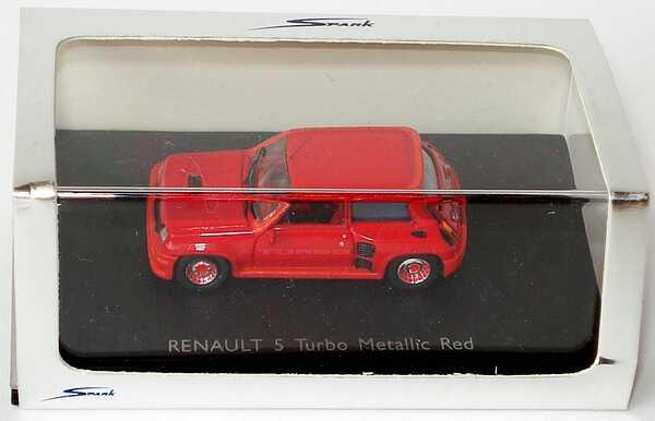 Foto 1:87 Renault R5 Turbo rot-met. Spark 87S016