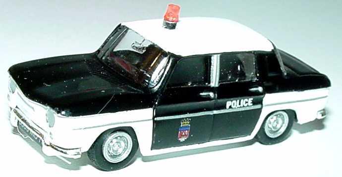 Foto 1:87 Renault R8 1953 Police Norev 3551095127822