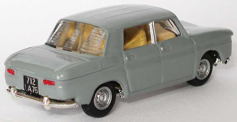 Foto 1:87 Renault R8 1953 grau Norev 512780