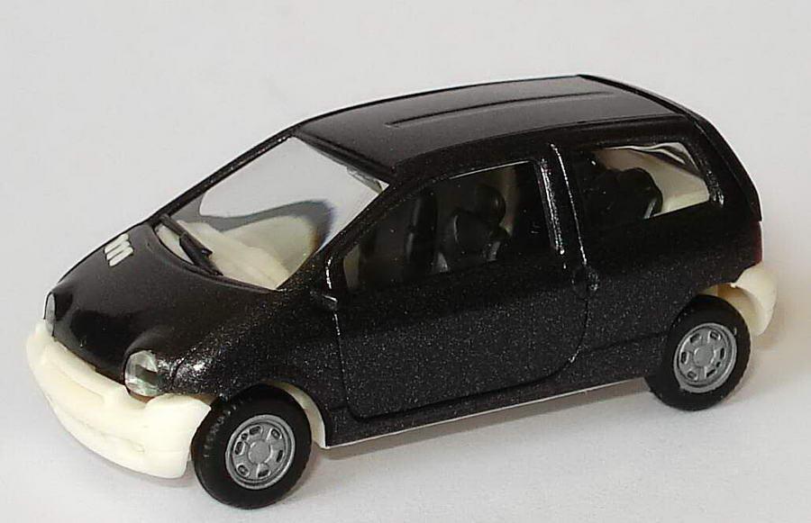 Foto 1:87 Renault Twingo schwarzmet./hellbeige herpa 185400