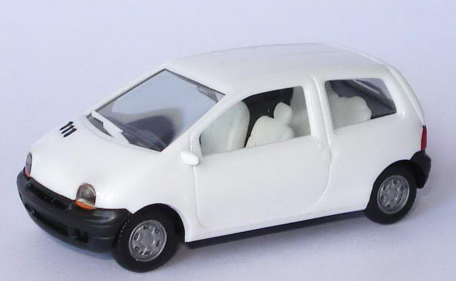 Foto 1:87 Renault Twingo weiß, Sitze weiß herpa 147200