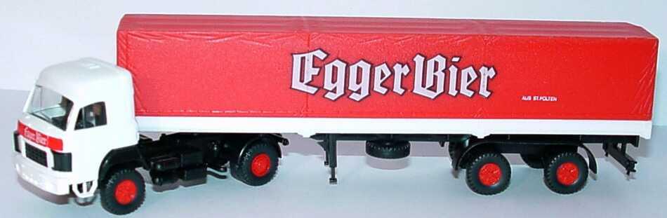 Foto 1:87 Saurer D 330 F PPSzg 2/2 Egger Bier aus St. Pölten Roskopf 431