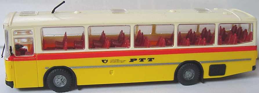 Foto 1:87 Saurer RH 525/23 Überlandbus PTT Roskopf