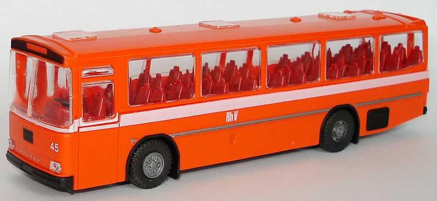Foto 1:87 Saurer RH 525/23 Überlandbus Rh V - Rheintalische Verkehrsbetriebe  Roskopf 530