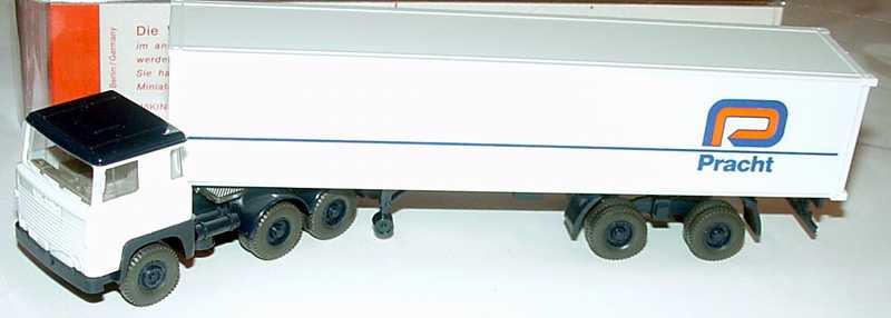 Foto 1:87 Scania R111 40CoSzg 3/2 Pracht Wiking 520
