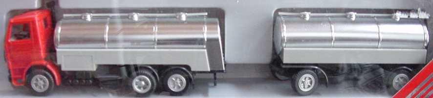 Foto 1:87 Scania R112 (K) MilchTHgz 3/2 rot/chrom herpa 823002