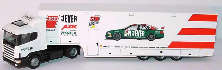 Foto 1:87 Scania R124 Fv RenntransportSzg 2/3 STW-Cup Phoenix Racing, Jever herpa 037839