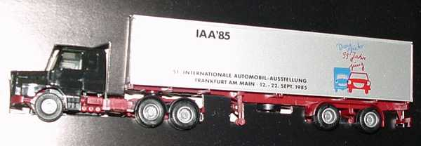 Foto 1:87 Scania T142 40CoSzg 3/2 IAA '85, Das Auto-99 Jahre jung herpa