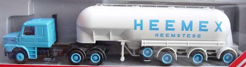 Foto 1:87 Scania T142 EuterSiloSzg 3/3 Heemex herpa 836002