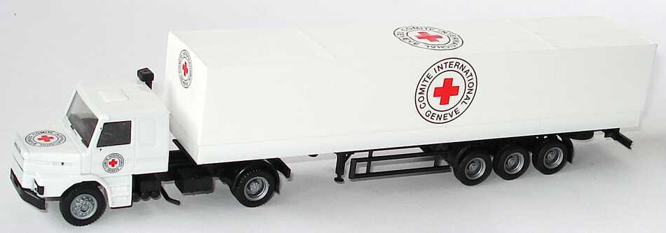 Foto 1:87 Scania T142 PPSzg 2/3 Comite International Geneve (The Best of Red Cross) herpa