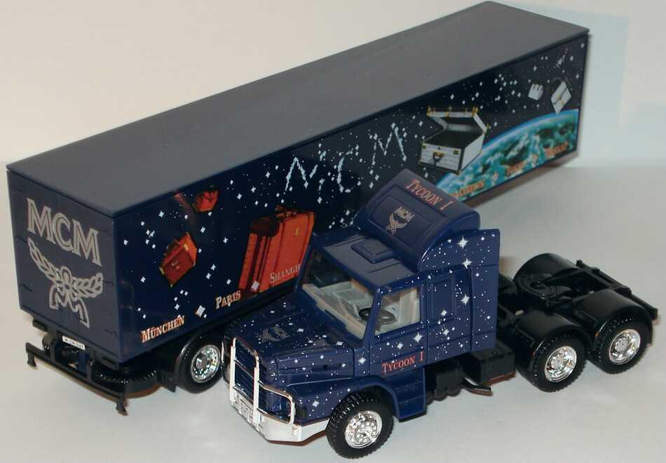 Foto 1:87 Scania T143 Fv KoSzg 3/3 MCM, Tycoon I (Creative Truck Edition 1994) herpa 174381