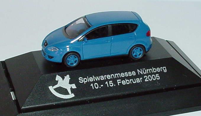 Foto 1:87 Seat Altea blau Spielwarenmesse Nürnberg 2005 Rietze
