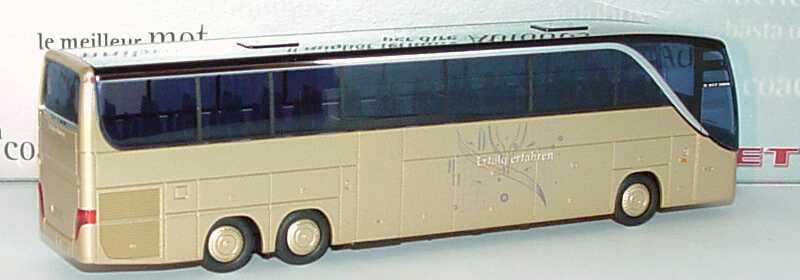 Foto 1:87 Setra S 417 HDH Erfolg erfahren (IAA 2006) Werbemodell AMW/AWM 1551