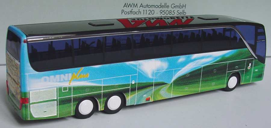 Foto 1:87 Setra S 417 HDH OMNIplus, Design Autobahn AMW/AWM