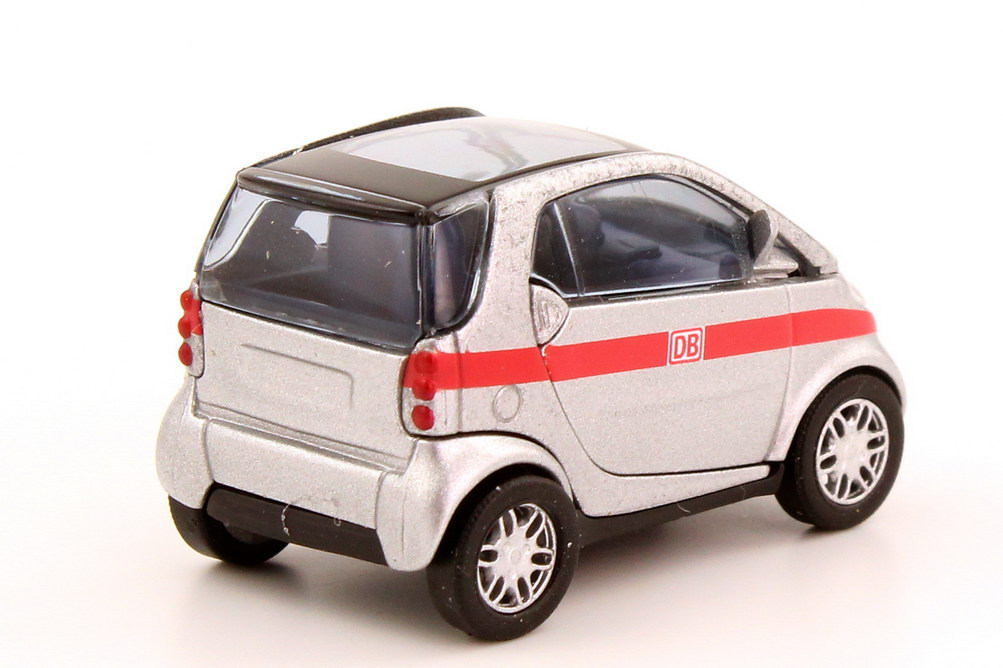 Foto 1:87 Smart City-Coupé DB Busch 53463