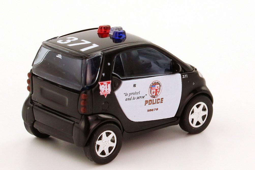 Foto 1:87 Smart City-Coupé Los Angeles Police Department LAPD, 371 Busch 48932